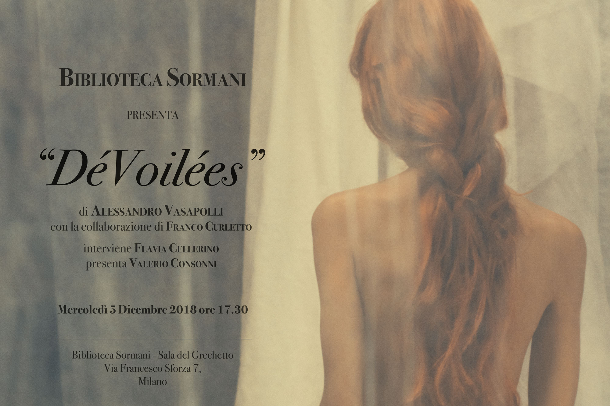 Invitation_Biblioteca_Sormani_Sala_del_Grechetto_Alessandro_Vasapolli_05_12_2018_DeVoilees_1