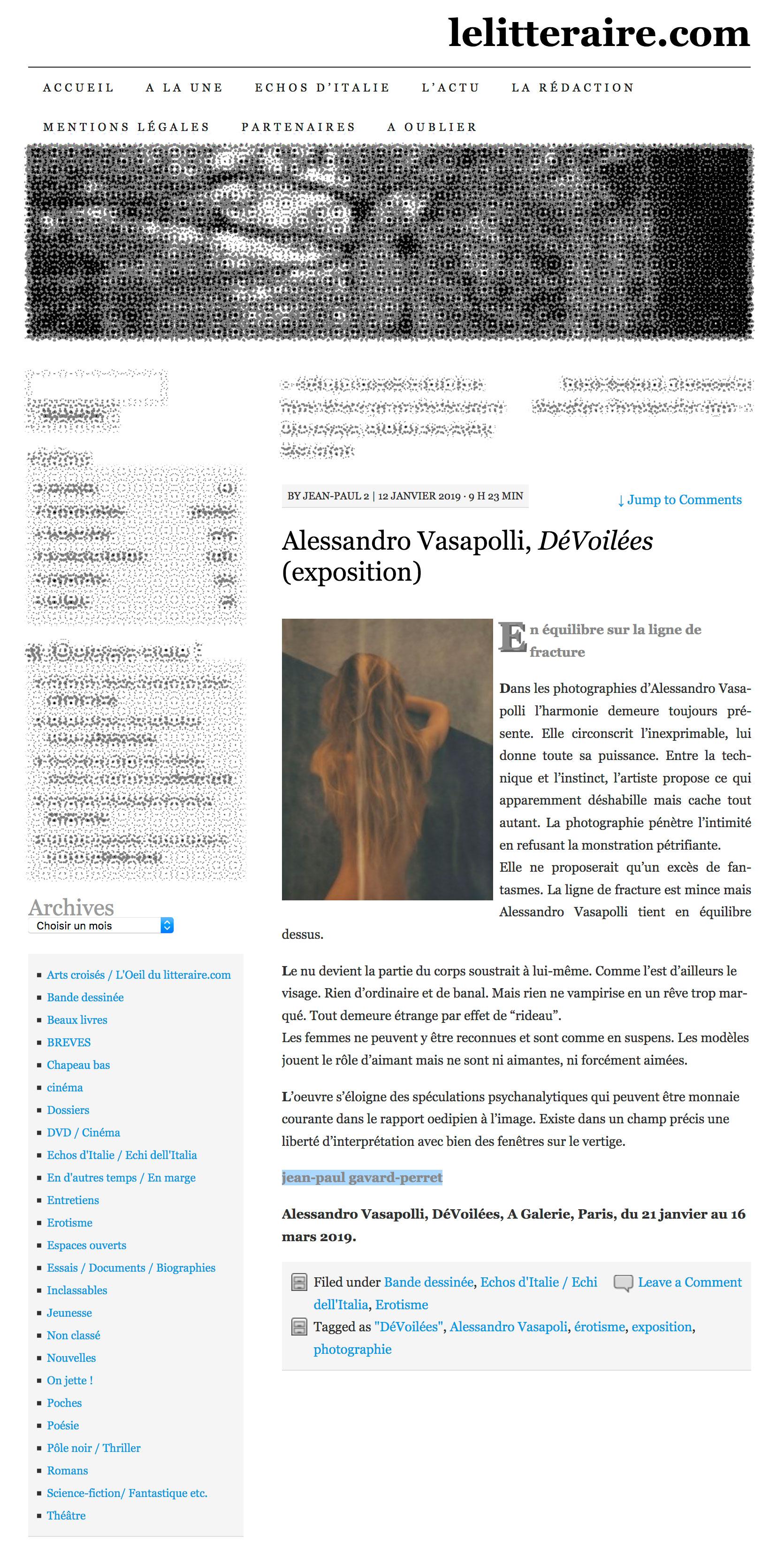 Alessandro_Vasapolli_DeVoilees_LeLitteraire_12_01_2019