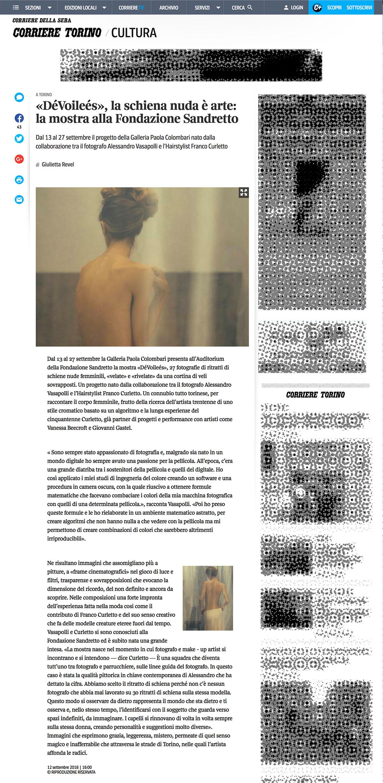 Articolo_Alessandro_Vasapolli_Corriere_della_Sera_DéVoilées_Digital