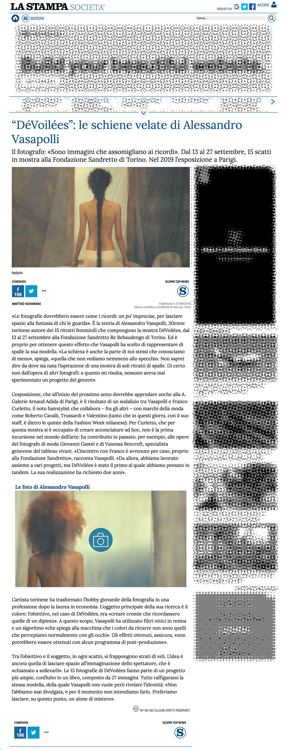 Alessandro_Vasapolli_DeVoilees_La_Stampa_Digital