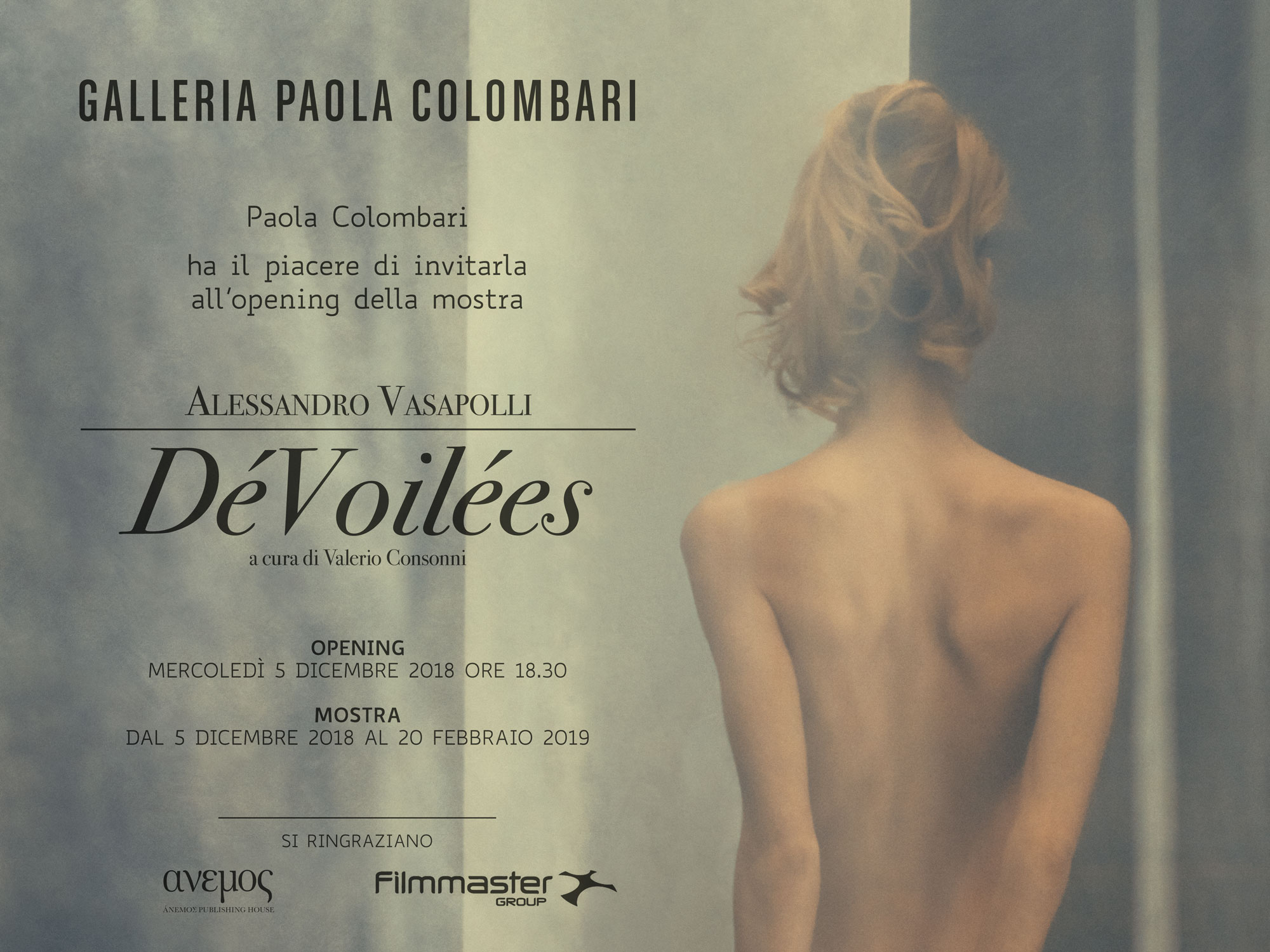 Invitation_Alessandro_Vasapolli_Paola_Colombari_DeVoilees_December_2018