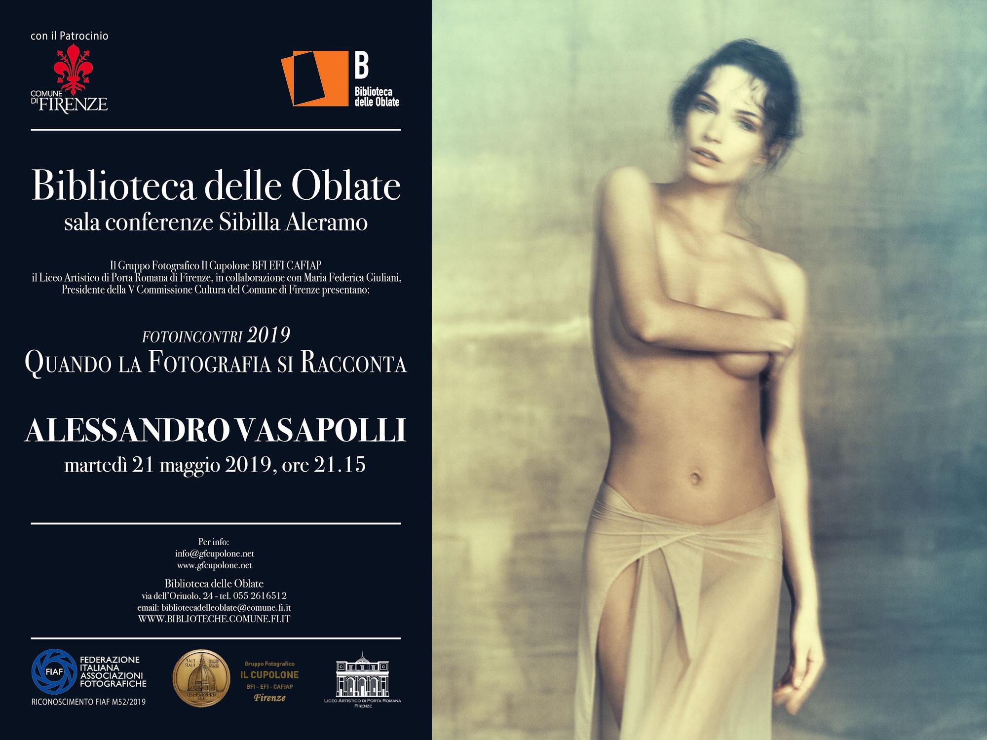 Invitation_il_Cupolone_Biblioteca_delle_Oblate_sala_conferenze_Sibilla_Aleramo_Alessandro_Vasapolli_21_05_2019